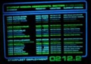 Starship Mission Assignment chart