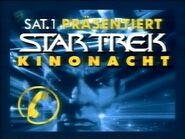 Sat.1 Werbung Star-Trek-Kinonächte