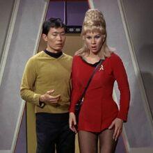 Hikaru Sulu and Janice Rand, 2266.jpg