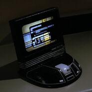 Starfleet desktop monitor, black