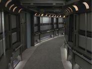 USS Voyager corridor