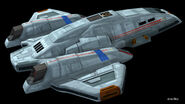 Aero-Wing CGI-Modell