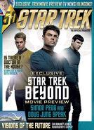 Star Trek Magazine issue 184 cover