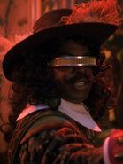 Hologramm von Geordi La Forge 2366 als Musketier