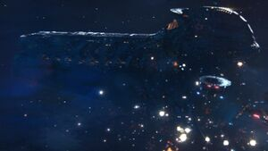Klingon cleave ship fighting Section 31