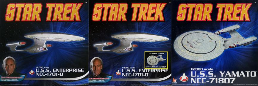 Aoshima Star Trek starships box fronts.jpg