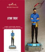 Hallmark 2021 Mirror Mirror Spock Storytellers ornament
