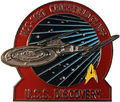 Eaglemoss Fansets USS Discovery pin