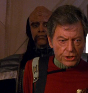 ...as a Klingon solider