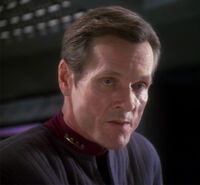 Sloan in his Section 31 uniform.