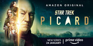 Star Trek Picard Season 1 banner