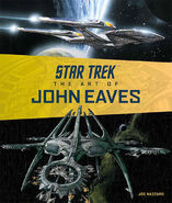 Star Trek The Art of John Eaves cover