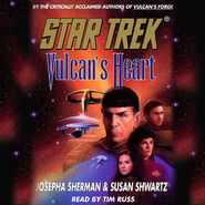 Vulcan's Heart audiobook cover, digital edition