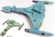 Playmates Klingon Attack Cruiser