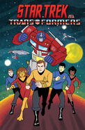 ST vs Transformers omnibus cover