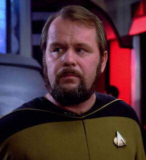 Аргајл, људски мушкарац 2364. године