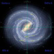 Galactic Quadrant Star Trek CZ