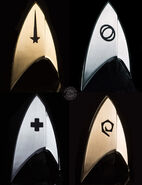 QMx Star Trek Discovery Magnetic Badges