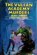 The Vulcan Academy Murders SFBC hardback cover