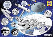 USS Enterprise Owners Workshop Manual puzzle box back cover