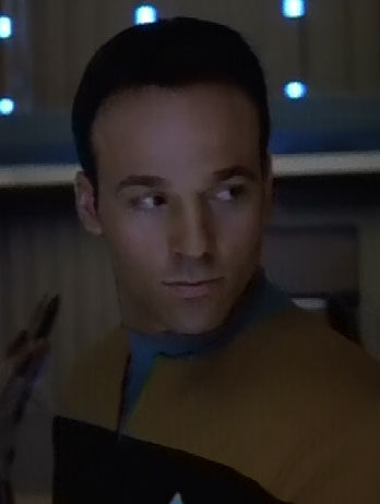 ... as a Voyager ensign
