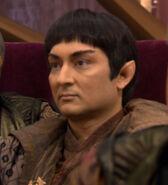 Vulcan high command member 1, Awakening