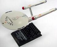F-Toys ISS Enterprise model