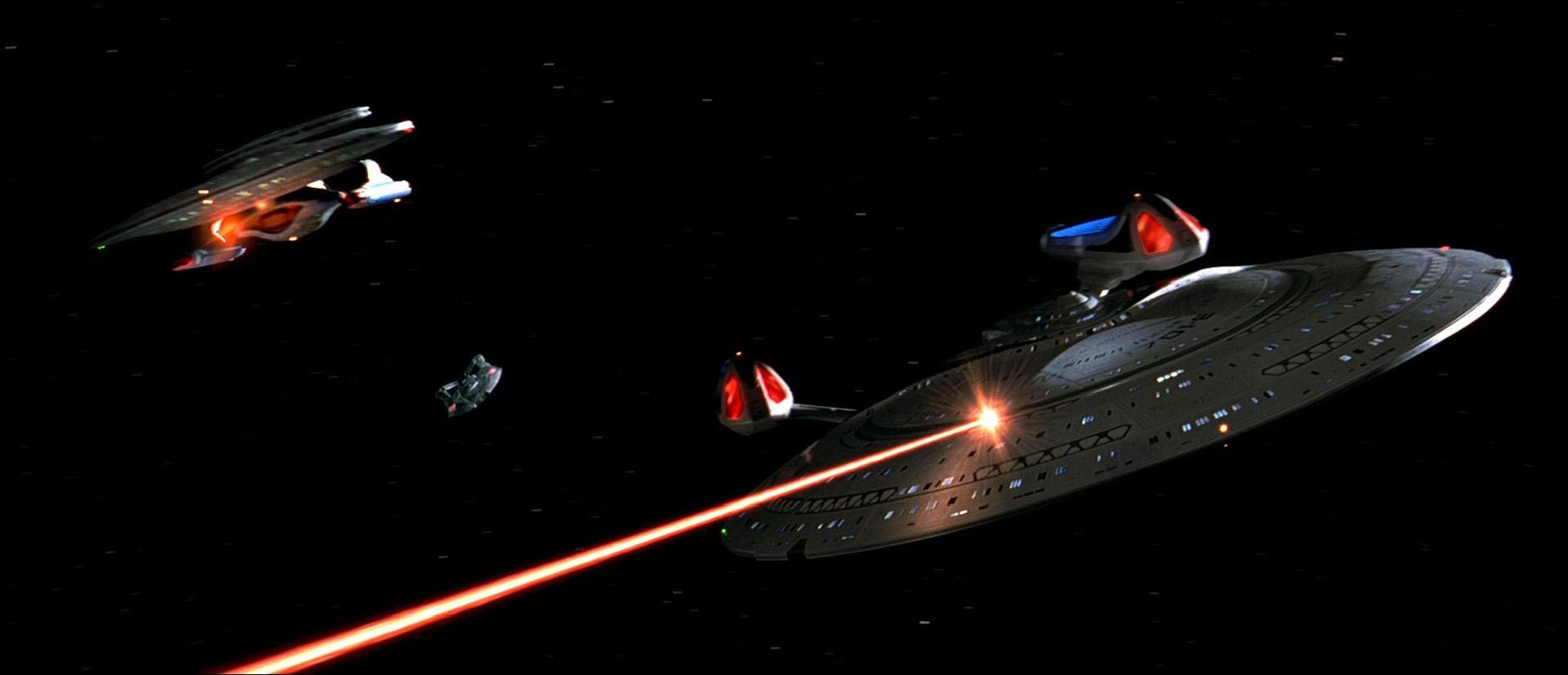 Weitere Raumschiffe der Nebula-Klasse