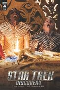 Star Trek Discovery - The Light of Kahless, issue 4 cover B