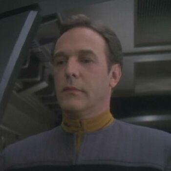 Lieutenant Jones in 2374