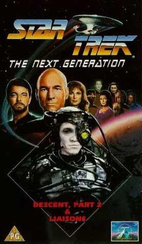 TNG Season 7 UK VHS