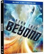 Star Trek Beyond Blu-ray Region A Walmart cover