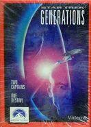 Star Trek Generations Video 8 cover