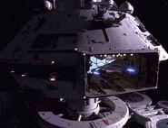 Jem'Hadar-Angriffsjäger im Hangar von Sternanbasis 375