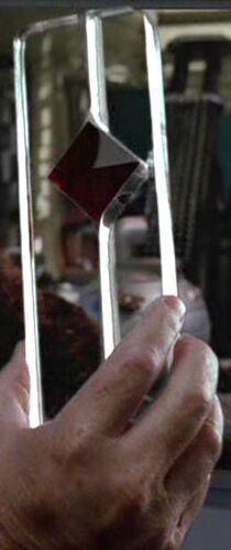 A beryllium crystal