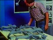 Jim Dow supervising the breakaway D7 class studio models