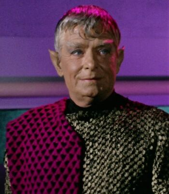...as the Romulan Centurion