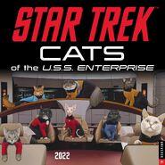 Star Trek Cats Calendar 2022