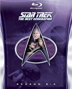 TNG Season 6 Blu-ray cover