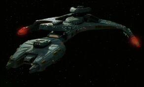 Útočný křižník třídy Vor'cha.