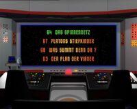 DVD-Menü TOS Staffel 3 Disc 3