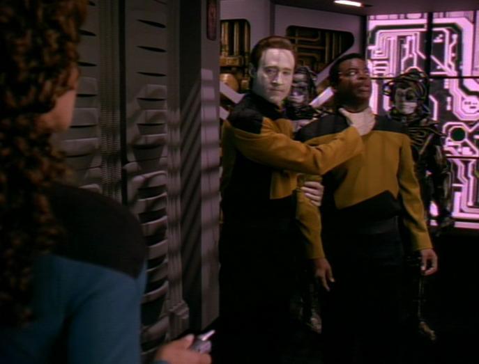 Angriff der Borg, Teil II