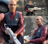 Eaglemoss Official Busts Collection First Contact Picard