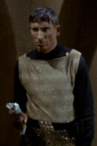 ...as a Klingon soldier