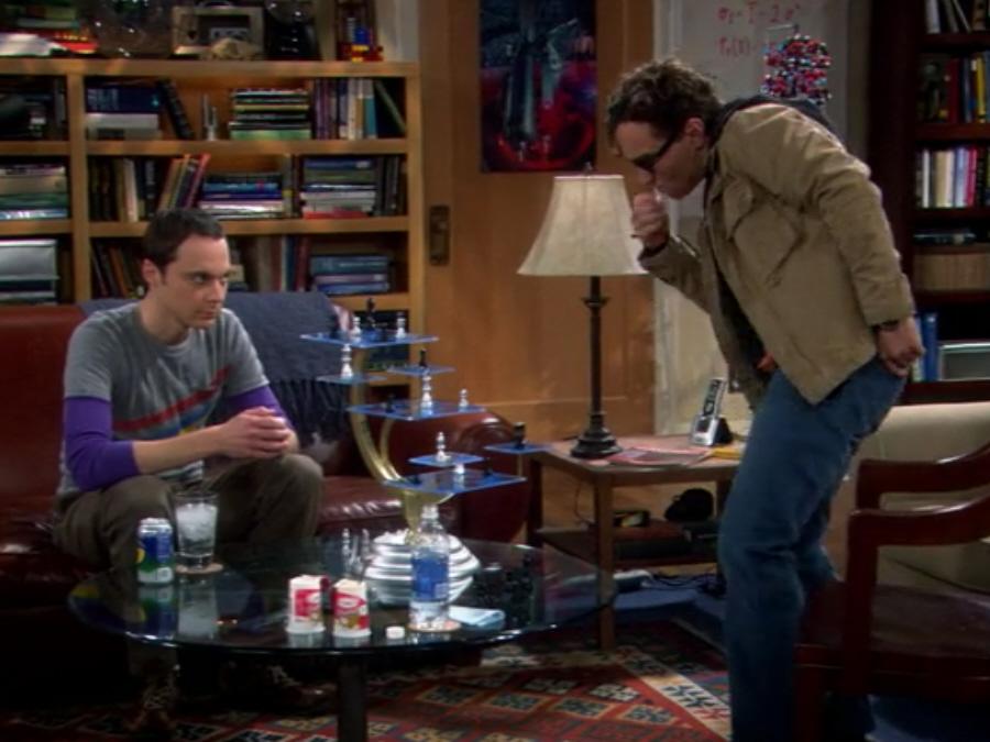 Parodien und Anspielungen auf Star Trek (Fernsehen)/The Big Bang Theory