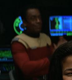 ...as an Enterprise-B crewman