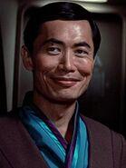 Hikaru Sulu in Zivil 2285