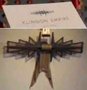 Original Klingon symbol