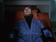 Robed patient spock