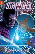 Alien Spotlight Romulans 2009 cover